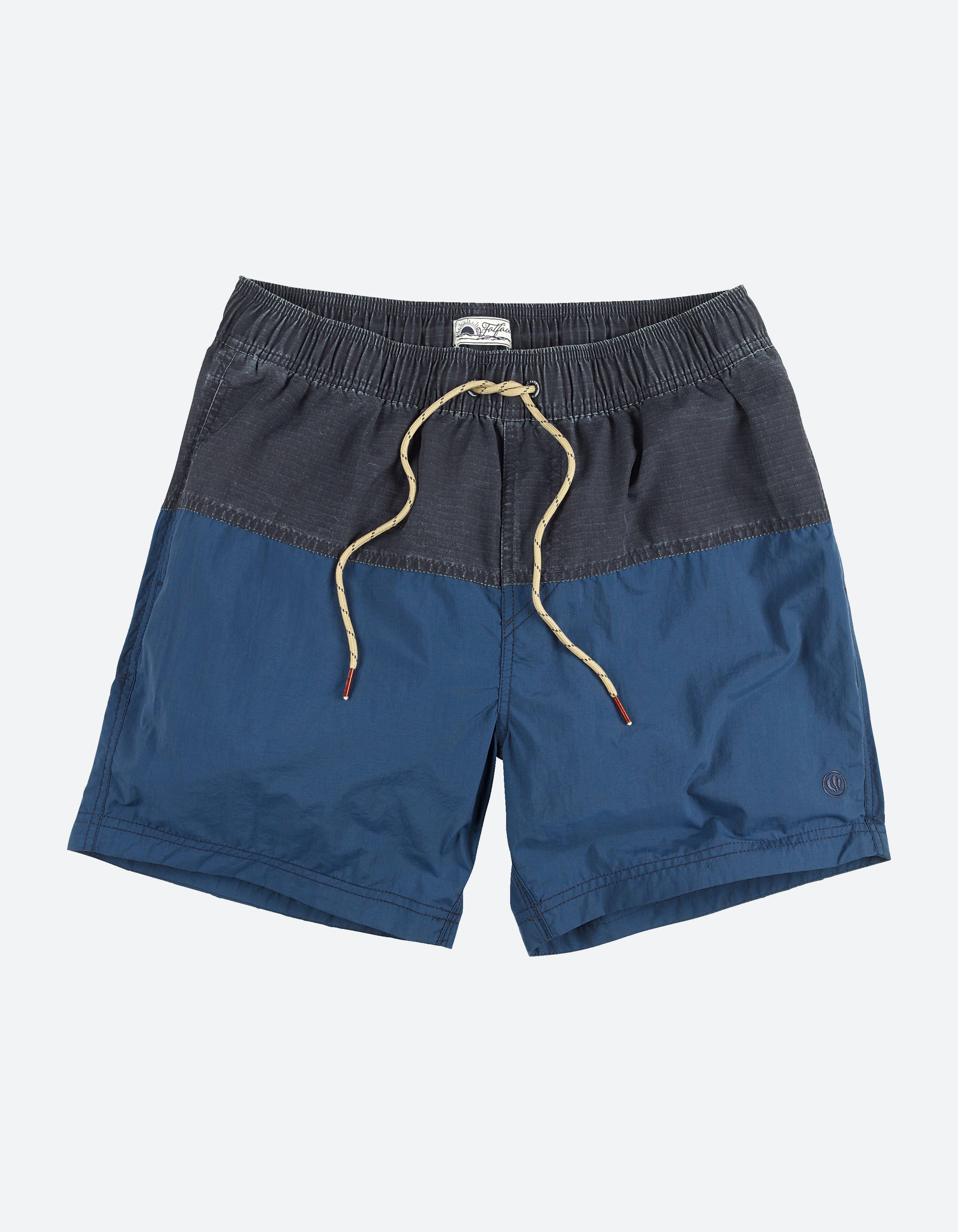 fat face sennen rip stop nylon swim shorts