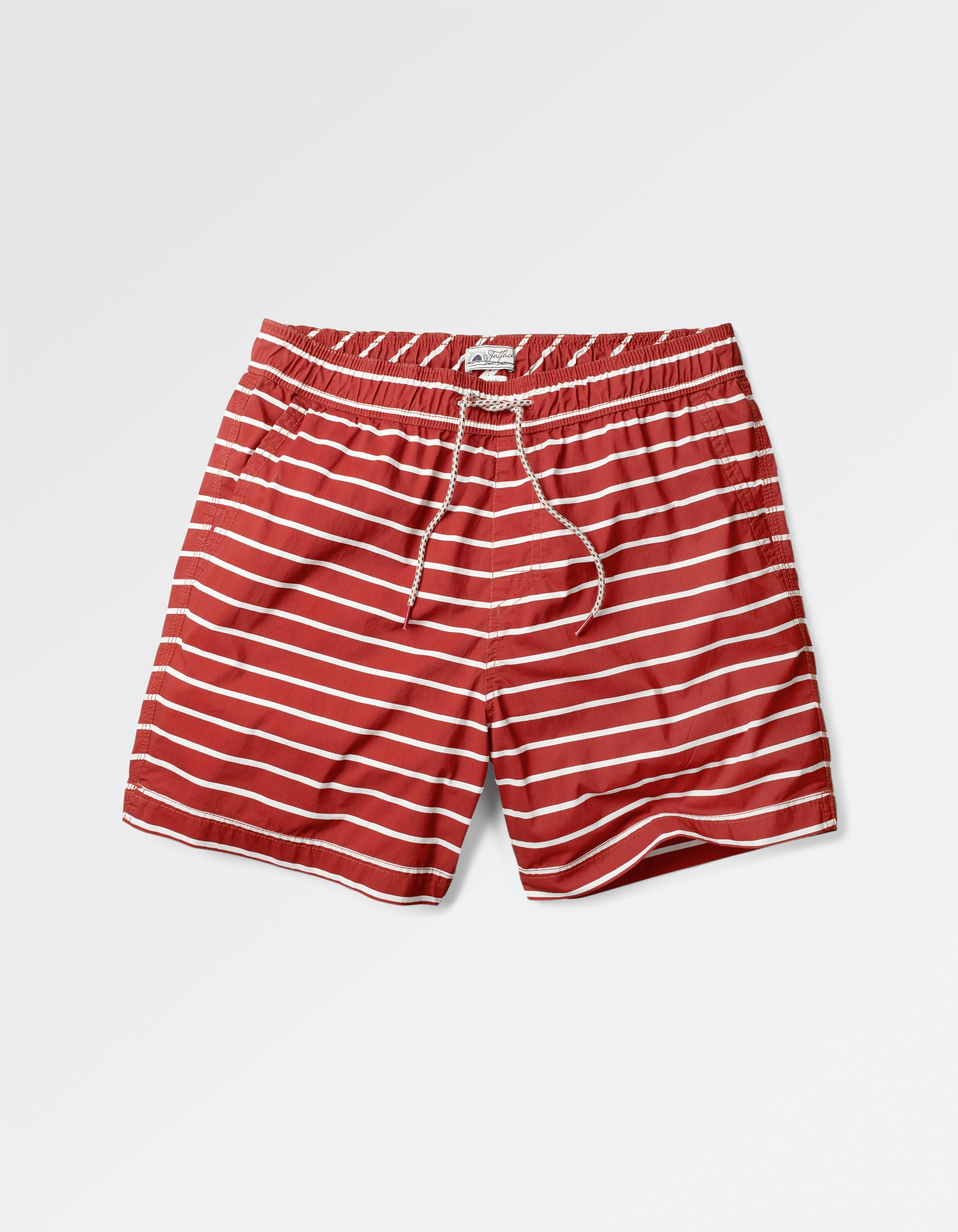 fat face fistral stripe swim shorts