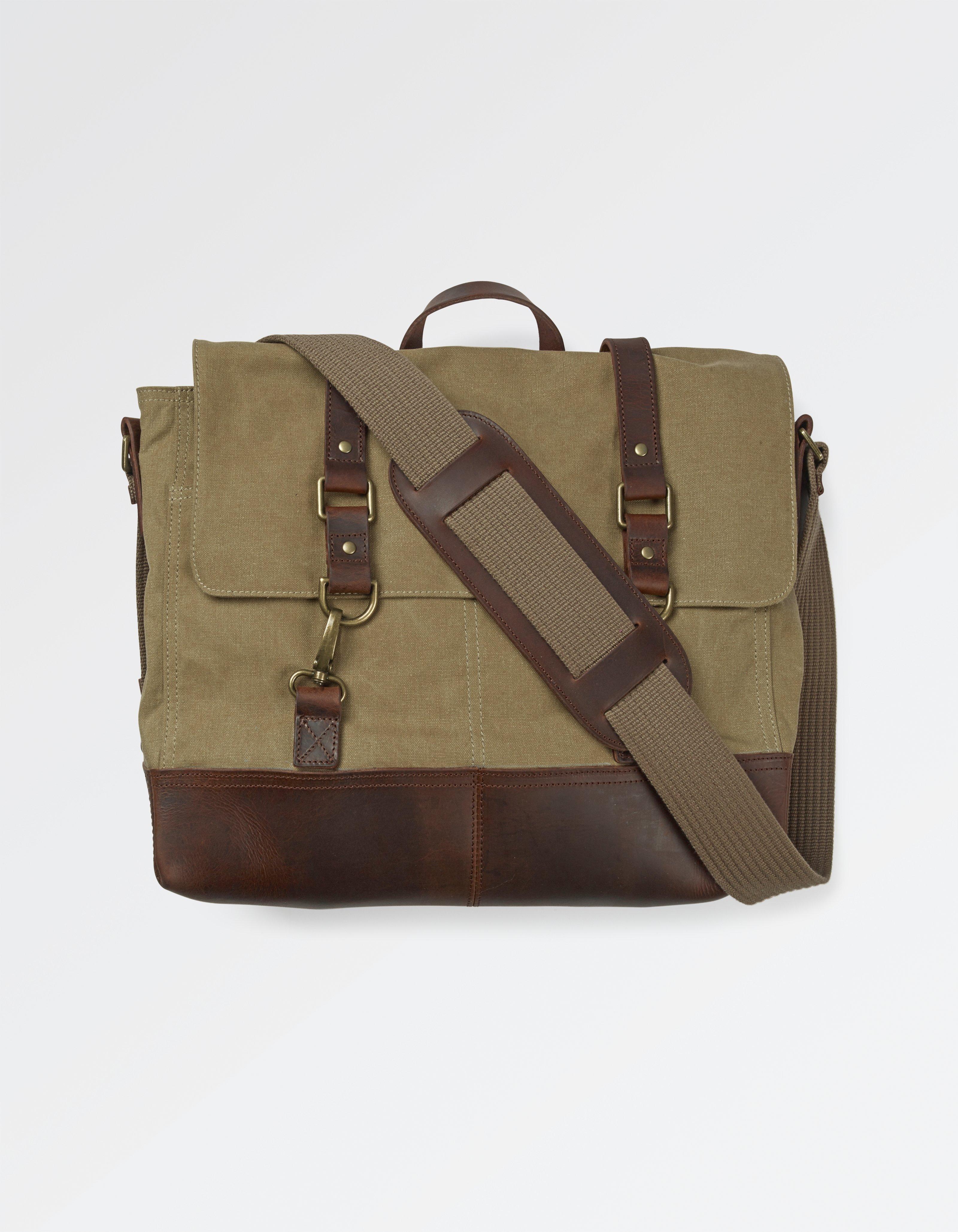 fat face premium messenger bag