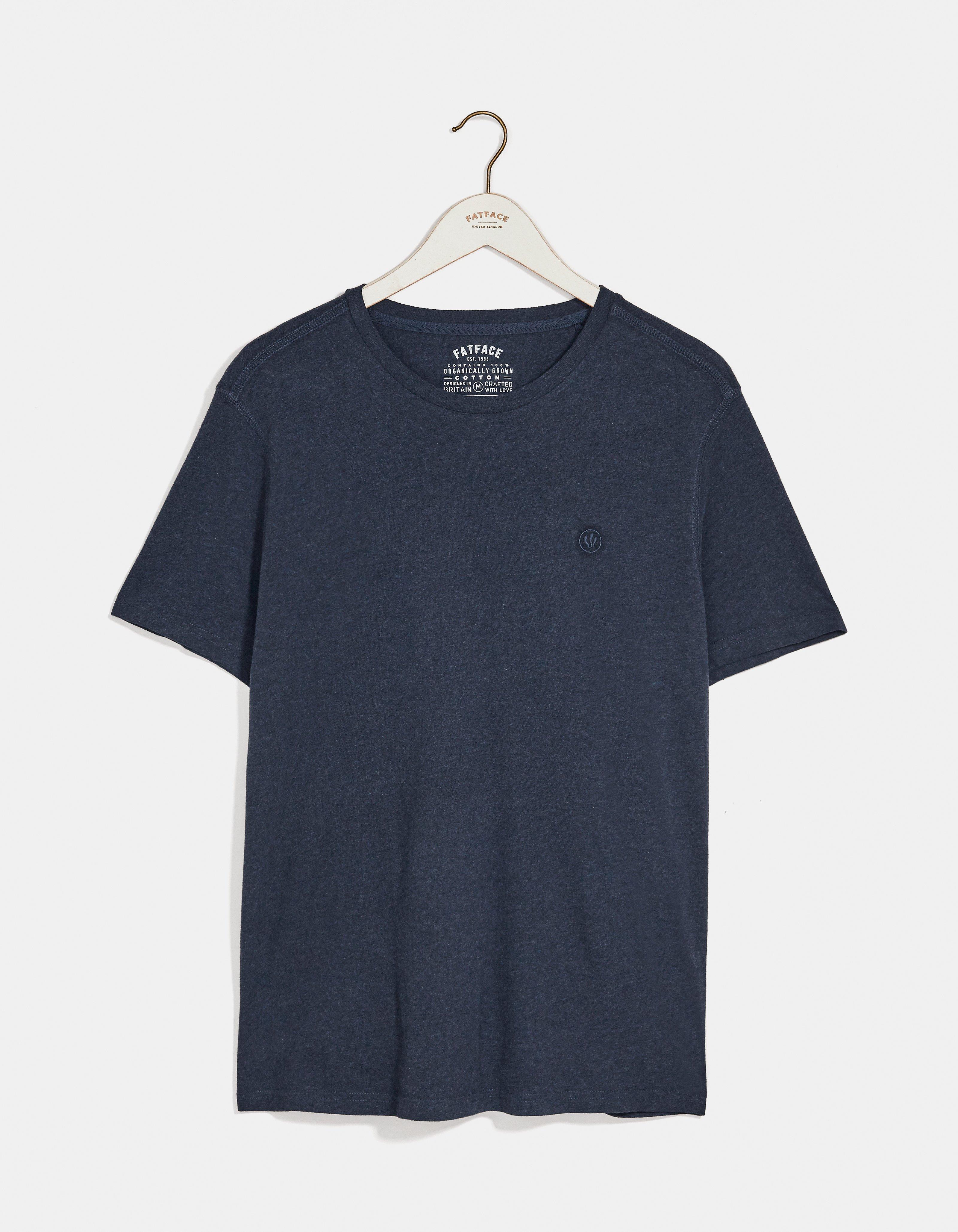 fat face hawnby organic cotton crew neck t shirt