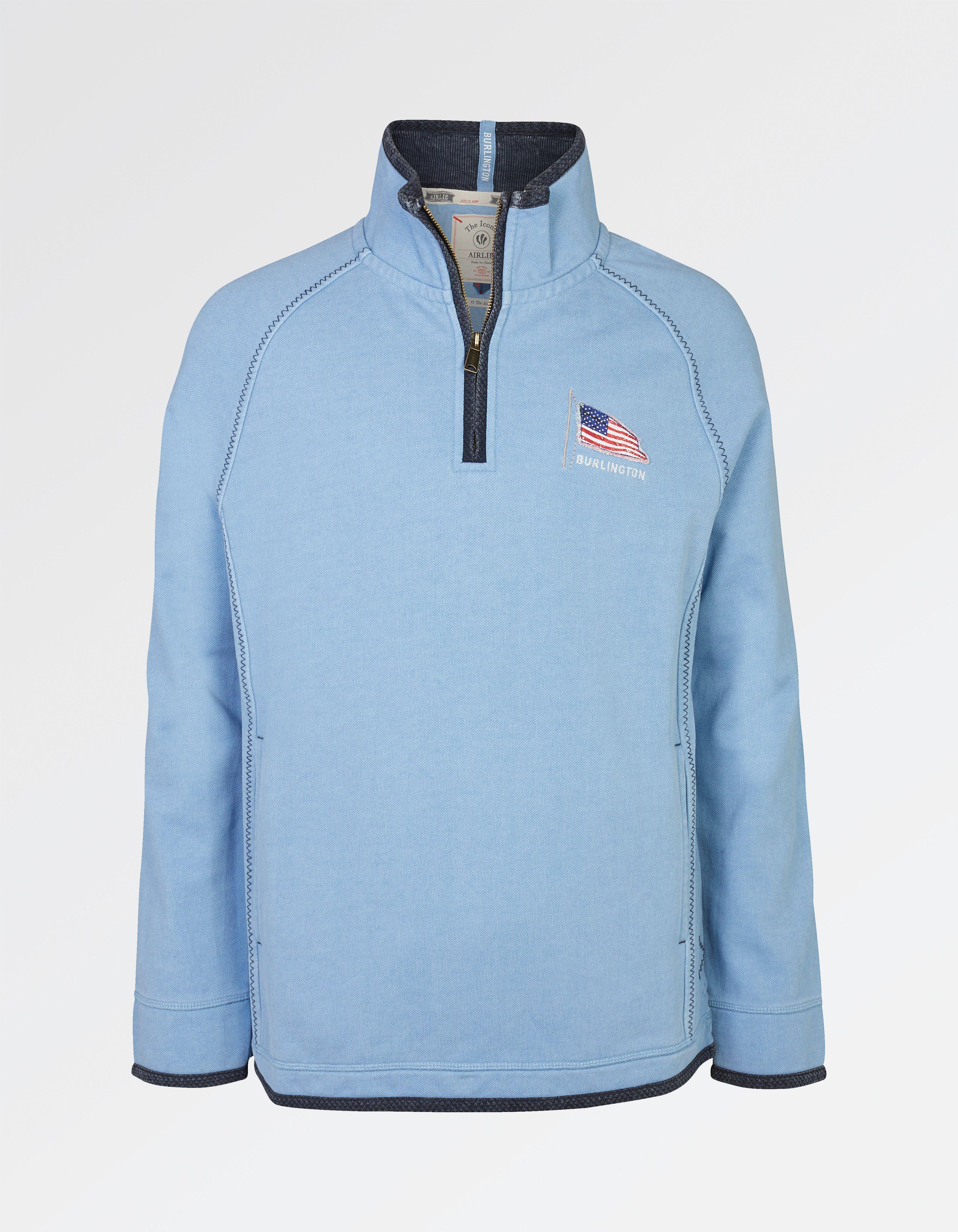 fat face burlington pocket airlie sweatshirt