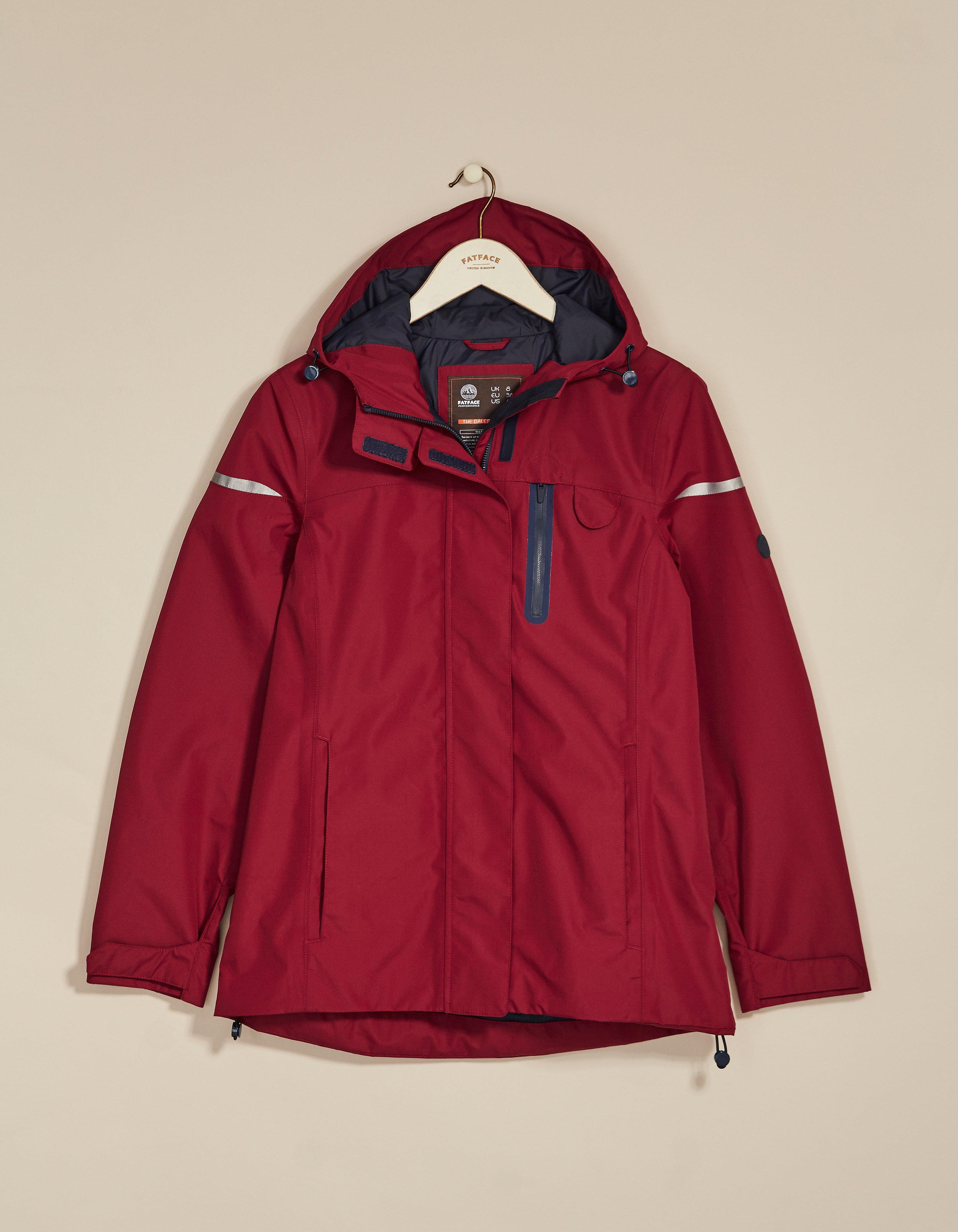 fat face dales waterproof short jacket