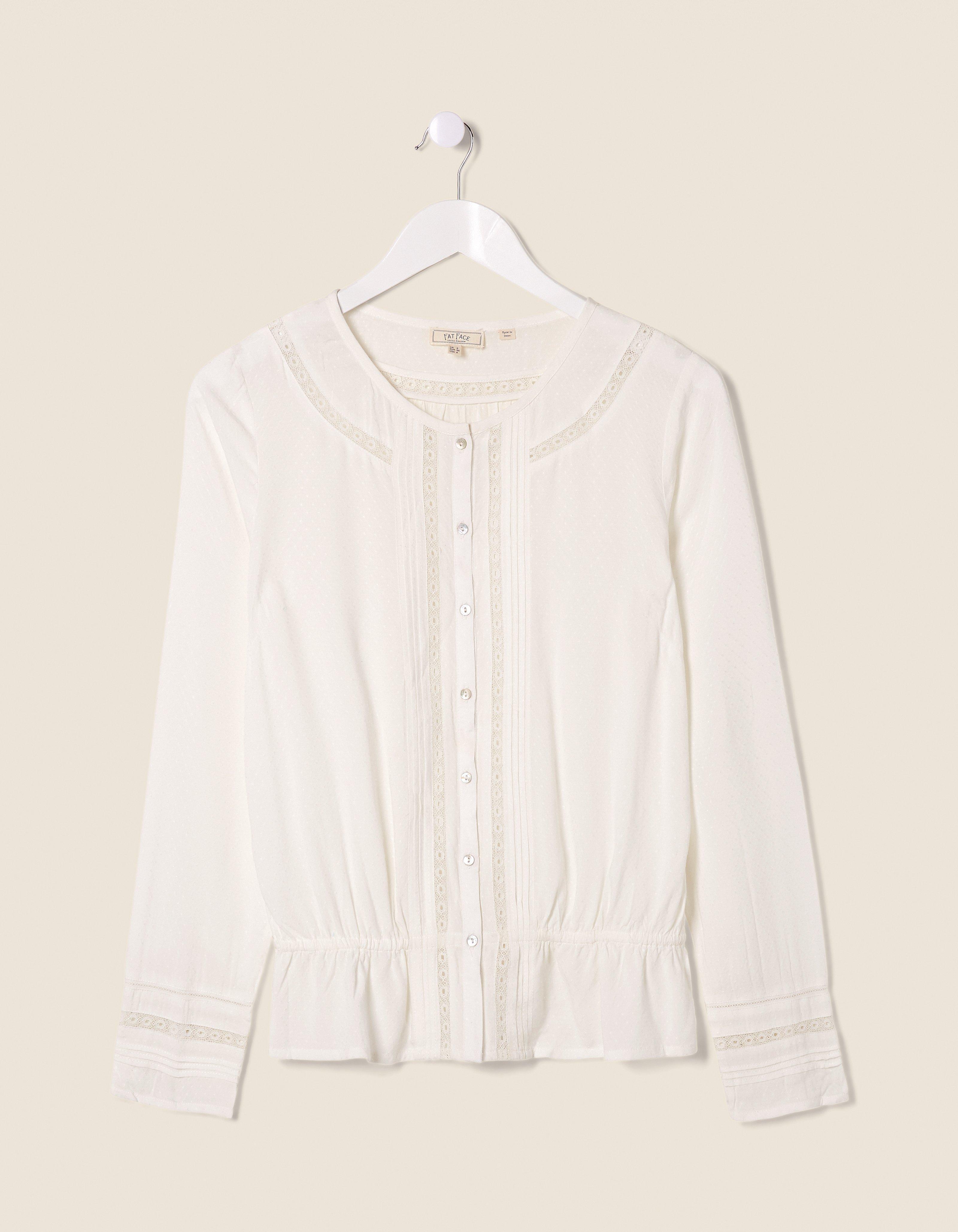fat face nicole lace blouse