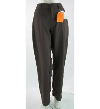 bnwt royal robbins - size: 16 - brown - global traveler convertible trousers
