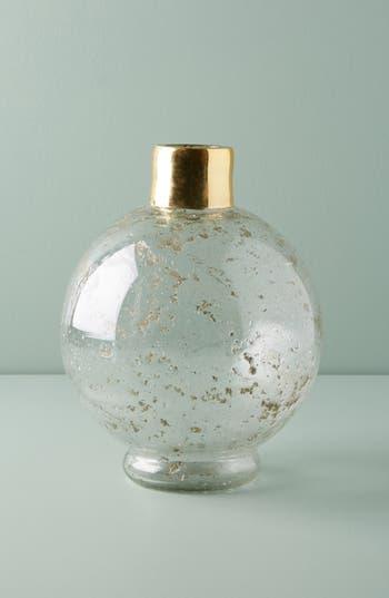 anthropologie gilded round vase
