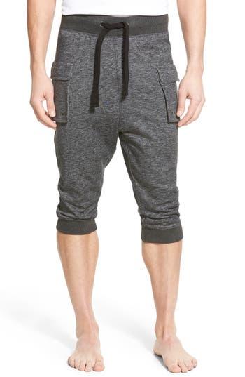 men's 2(x)ist crop cargo pants, size small - black