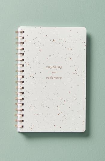 anthropologie mila spiral journal -
