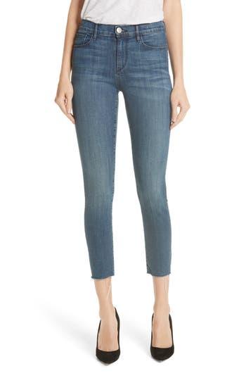 women's 3x1 nyc w2 ankle skinny jeans, size 23 - blue