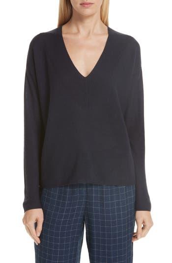 women's eileen fisher boxy tencel lyocell & silk sweater