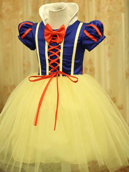 snow white cosplay costume disney princess toddler kids fancy dress halloween
