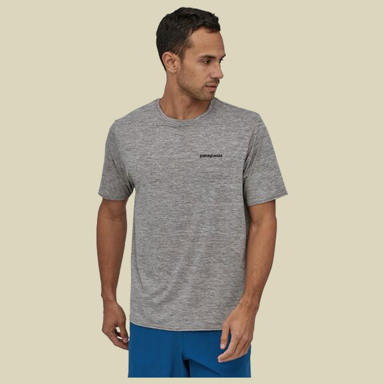 Patagonia Capilene Cool Daily Graphic Shirt Men Herren T-Shirt Größe M  Feather Grey
